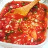 メキシコ料理の基本その1 サルサ!