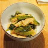 レンジで簡単 小松菜の煮浸し