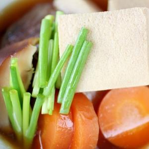 ほっとする、懐かしい♪高野豆腐の含め煮♪簡単レシピ