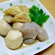 小芋と玉コンニャクの煮物