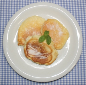 もちふわ☆バリココのココナッツオイルでパンケーキ