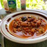 【独居自炊】豆たっぷりスープ