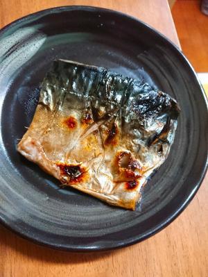 生サバの塩こうじ焼き