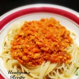 ダイエット☆高野豆腐のミートソーススパゲティ
