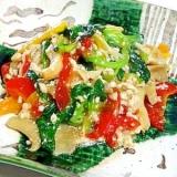 彩り野菜の塩だれ炒め