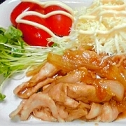 タモリ流をアレンジ!生姜焼き