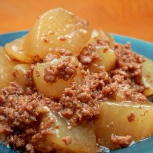 大根とひき肉のトロッと煮