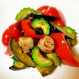 夏バテ解消!健康にいい夏野菜と豚肉のシンプル炒め