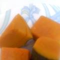 塩で色が綺麗に仕上がる♪かぼちゃ煮♪
