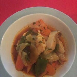 野菜たくさん!鶏肉のケチャップ煮