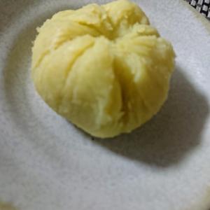 チーズ入り さつまいもの茶巾デザート