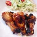 鶏手羽元のオーブン照り焼き