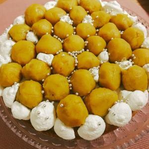 クリスマスにいかが?安納芋のスイートポテトタルト♡