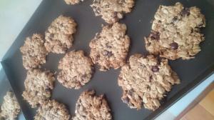 ザックザク☆オートミールとココナッツのクッキー