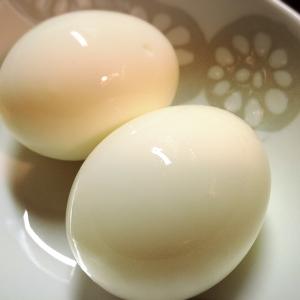 ◎ ゆで卵(固め・固めの半熟・半熟)◎