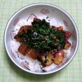 タコとマグロの海鮮丼