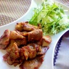 簡単美味しい♪豚肉のマヨ醤油焼き