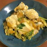 簡単おかず❁豆腐の卵とじ❁