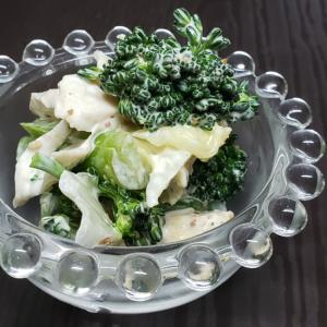 気軽に一品!野菜とササミのマヨネーズマスタードあえ