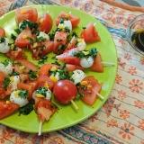 誕生日にも!トマトとモツァレラのカプレーゼ