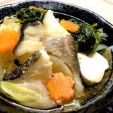タラと野菜の寄せ鍋