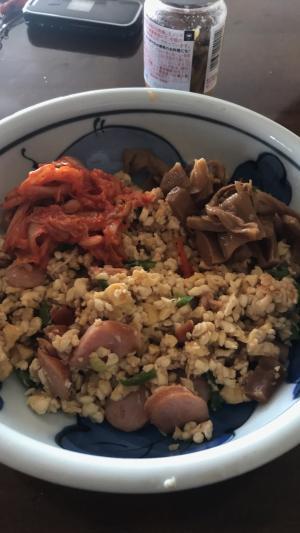炒り豆腐deチャー豆腐