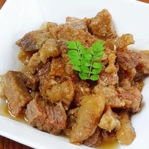 柔らかお惣菜☆ 山椒風味「牛ロース角煮」