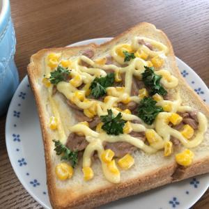 【栄養価付き】焼くだけ!ツナとコーンのマヨトースト