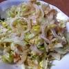 麺つゆで簡単、和風新玉ねぎサラダ