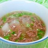 【離乳食】角切り大根&牛モモ肉のとろみ煮