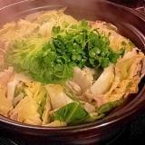 冬に最適★白菜と豚バラとチンゲン菜のミルフィーユ鍋