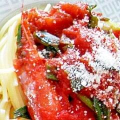 赤えびスパゲティ