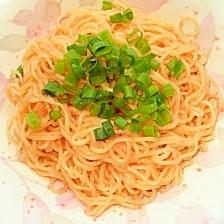 レンジで簡単!なんちゃって たらこスパゲッティ