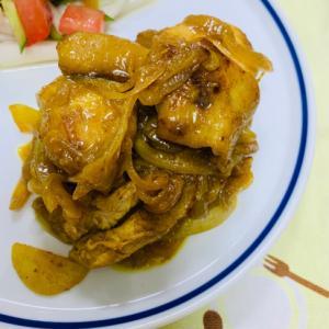 まろやか☆タンドリーチキン風鶏肉のカレー焼き