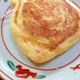 納豆とチーズの巾着焼き