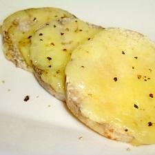 トースターで簡単☆山芋チーズ乗っけ焼き