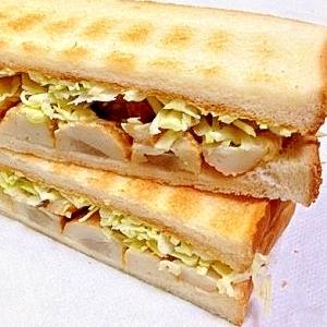 準和風トーストサンド こんがりマヨ焼きごぼ巻の巻~