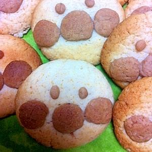 トースターで簡単おやつ♪アンパンマンクッキー