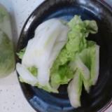 超簡単!さわやか白菜漬け。