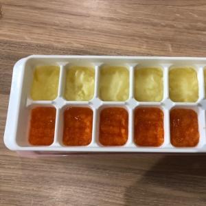 離乳食初期☆1回の調理でジャガイモと人参のペースト