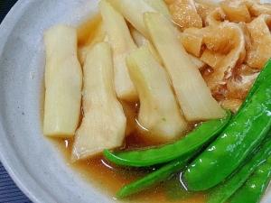 山ウドのアク抜き&定番のお惣菜「炒め煮」