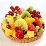 フレッシュフルーツの贅沢タルト フルーツタルト