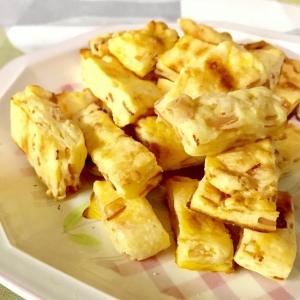 トースターで簡単おやつ☆ハムとチーズの惣菜スコーン