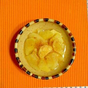 リンゴとサツマイモのレンジ煮♪