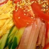 ゆず胡椒の冷やし中華