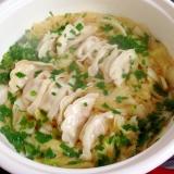 餃子のスープ♡
