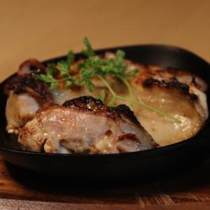 スキレットで焼くだけ❤鶏肉のビール漬け