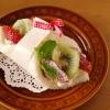ショートケーキ風フルーツサンドシナイッチ