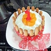 1歳のお誕生日ケーキ!卵不使用です!