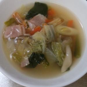 *優しい味*たっぷり野菜スープ